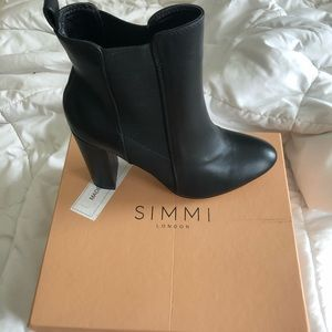 Simmi London (ASOS) heeled ankles boots